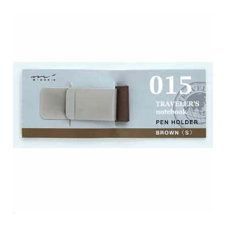 015 Pen Holder (S) brown (Regular and passport size) TRC