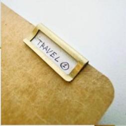 TRC Brass Index Plate