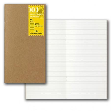 001 TN Regular 001 Refill Lined Notebook Basic Item MD paper
