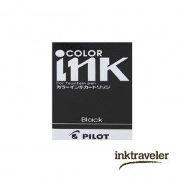 Pilot Cartridge Black-12 Pack