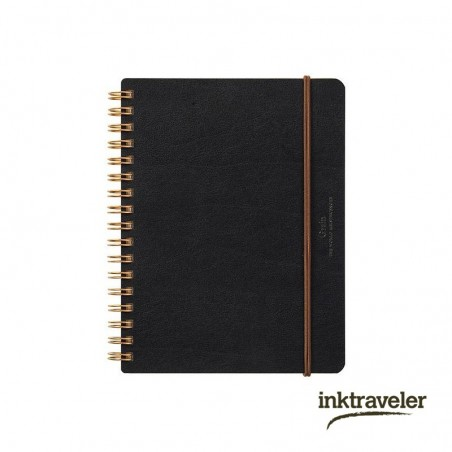 B6 WM Ring Notebook Grain Black