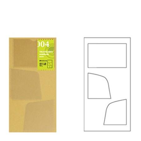 004 Bolsillos adhesivos (Tamaño original y pasaporte) TRC