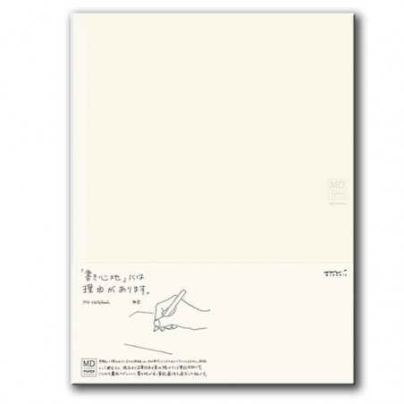 Cuaderno de Papel MD -Large- Liso midori A4