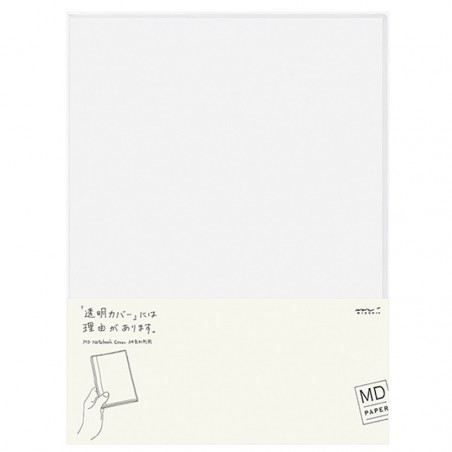 A4 Midori Cover Clear for MD notebook