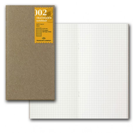 002 Recambio papel MD Cuadriculado (Tamaño Original) TRC