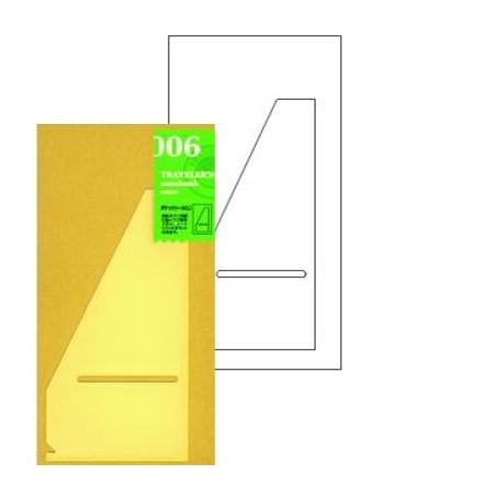 006 Bolsillos adhesivos grande (Tamaño original) TRC