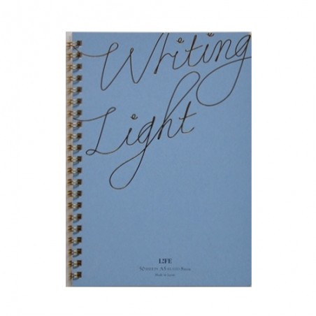 A5 Life Writing Light Ruled notebook