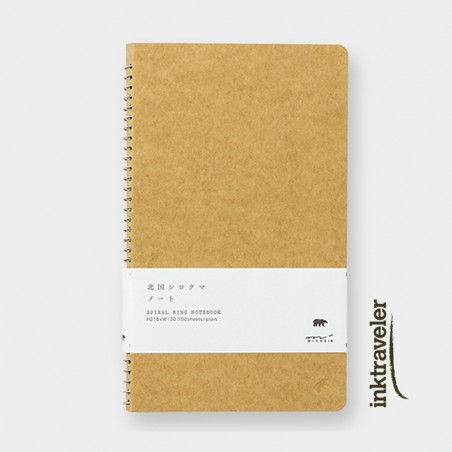TRC Spiral Ring Notebook A5 MD paper white Polar Bear