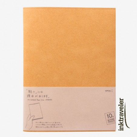 A4 Cover Paper 10th Paper Light Brown for MD Notebook