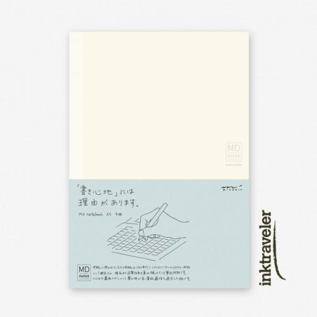 A5 midori cuaderno cuadriculado MD paper
