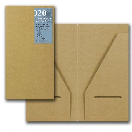 020 Bolsillos papel Kraft (Tamaño Original) TRC