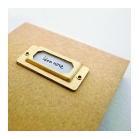 Brass Label