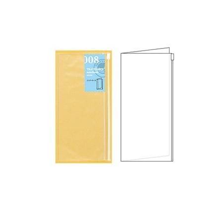 008 TN Regular Refill Zipper Pocket TRC