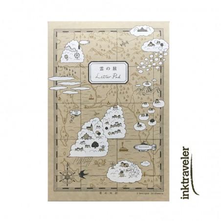 Kyupodo Cloud trip Paper pad LIFE