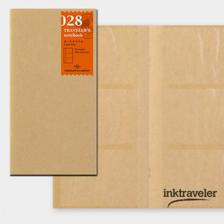 028 recambio papel kraft 60 bolsillos (Tamaño Original) TRC