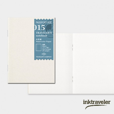 015 TN Passport 015 Refill Watercolor Paper TRC