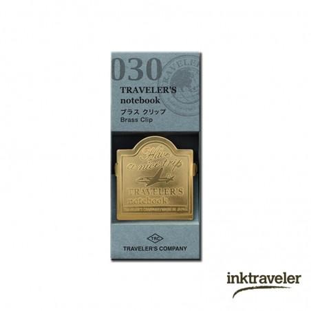 030 Brass Clip Airplane (Regular and passport size)