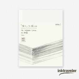 F0 cotton midori notebook...