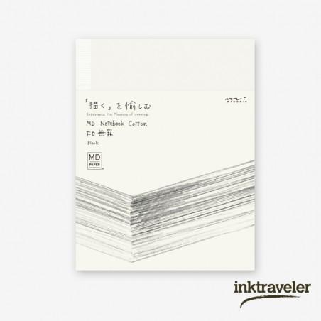 F0 cotton midori notebook blank