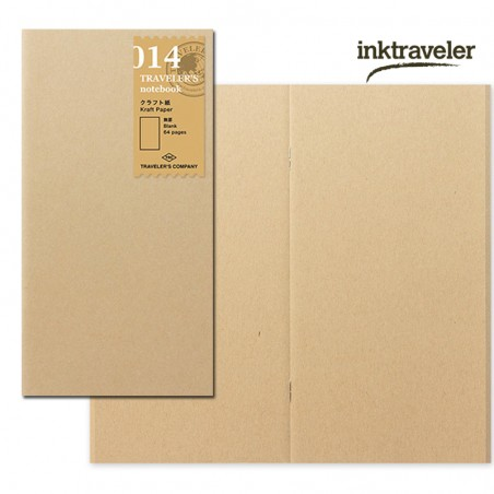 014 TN Regular Refill Kraft Paper Notebook TRC