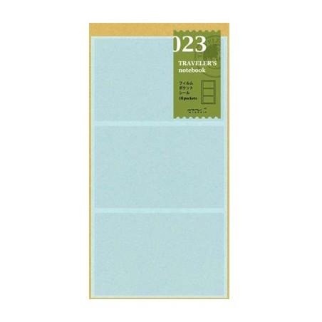023 Bolsillos internos adhesivos (tamaño original) TRC