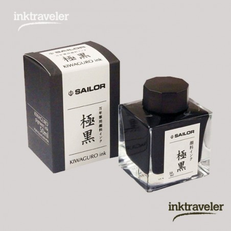 Kiwaguro Tinta de Registrador Negra Sailor