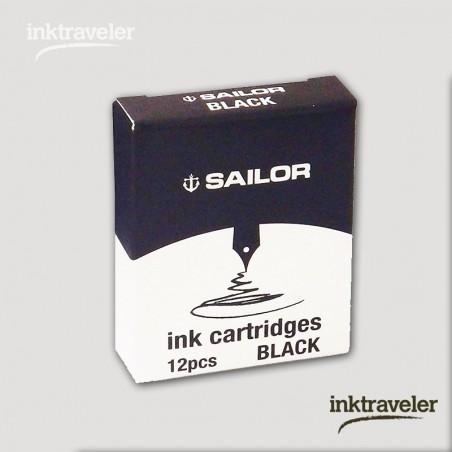 Box 12 cartridges Jentle ink Black