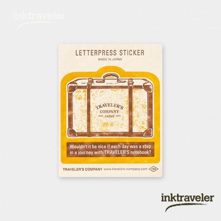 Sticker travel tools Yellow