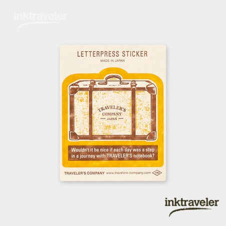 Stickers travel tools Yellow