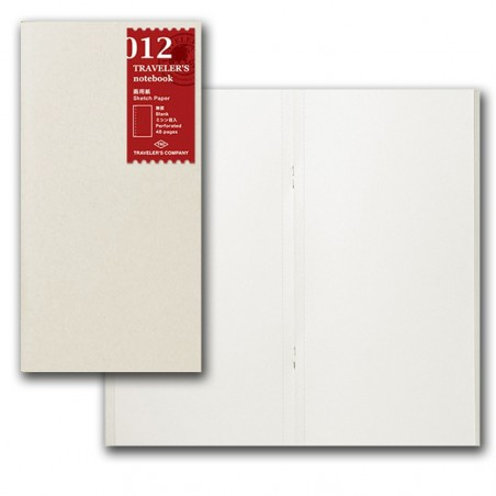 012 Recambio papel de dibujo (Tamaño original) TRC