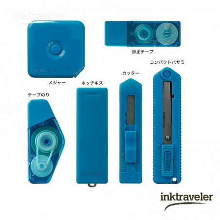 midori XS Stationery Kit Blue