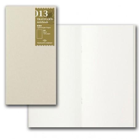 013 Recambio papel ligero liso (Tamaño Original) TRC