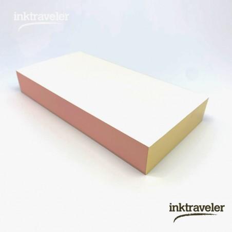 Yamama Memo pad papel de acuarela B blanco