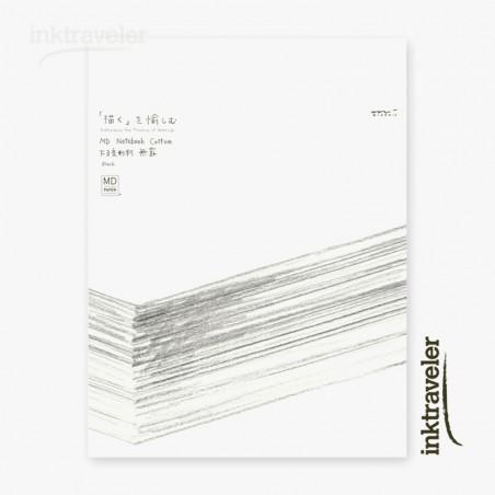 F3 Midori Cotton notebook  Blank