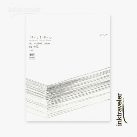 F2 midori cotton Cuaderno Liso