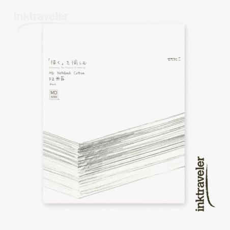 F2 midori Cotton notebook Blank