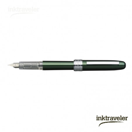 Platinum Plaisir anodized aluminium green