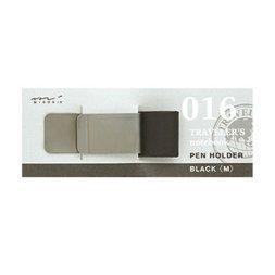 016 Portalápices Negro M (Tamaño original y pasaporte)