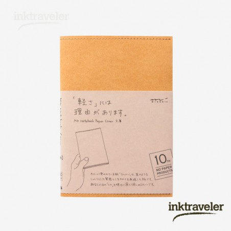 a6 midori cover paper 10th paper light brown for md notebook