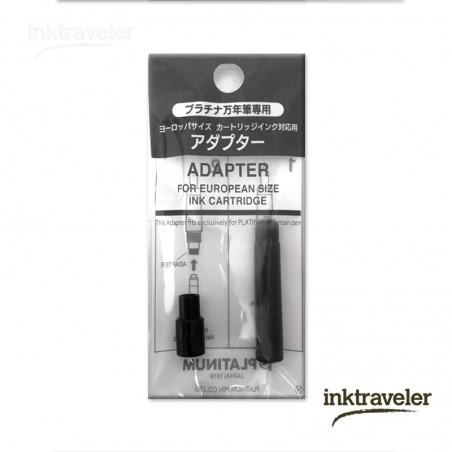 Platinum adapter for standard cartridges