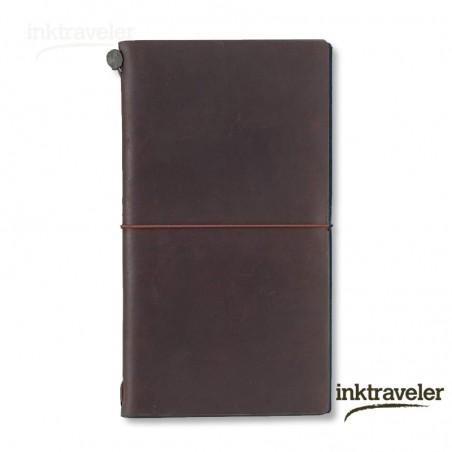 Traveler's Notebook Marrón (Tamaño Original)