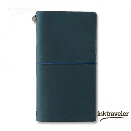 Traveler's Notebook azul (Tamaño Original)