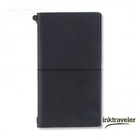 Traveler's Notebook Negro (Tamaño Original)