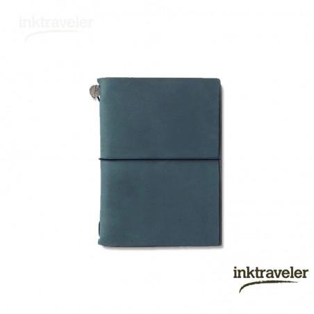 Traveler's Notebook azul (Tamaño Pasaporte)