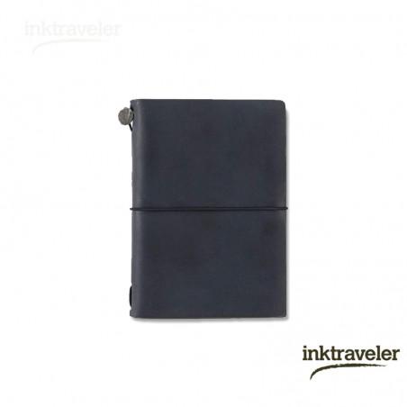 Traveler's notebook negro (Tamaño Pasaporte)