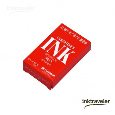 Platinum Red cartridges box (10ud.)