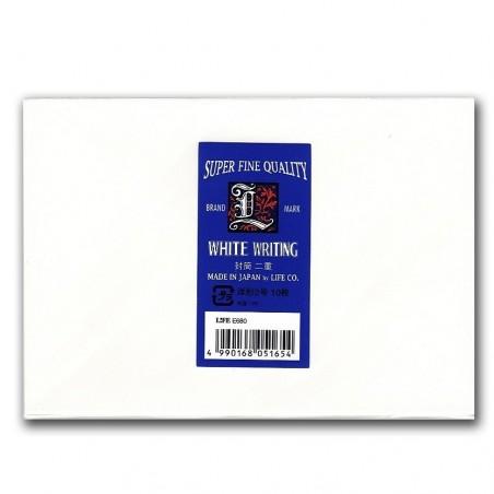 Sobres blancos A5 pad life L paper