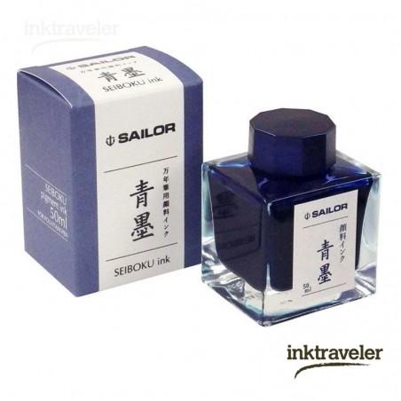 Seiboku Tinta de Registrador Azul/Negro sailor