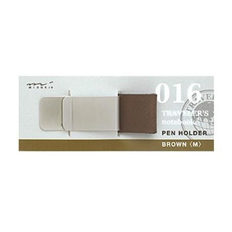 016 Pen holder Brown M (Regular and passport size)