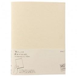 Cubierta A4 crema papel MD